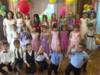 В детском саду прошел выпускной бал!