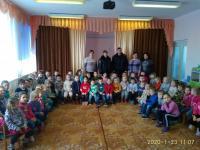 Инспекторы ГИБДД в гостях у дошкольников.