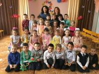 В детском саду прошли утренники, посвященные 8 марта!