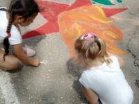 Акция «Я рисую мелом»