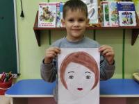 конкурс детских рисунков «Мамины глаза» .